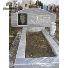 Памятник из мрамора стандарт 54 — ritualum.ru
