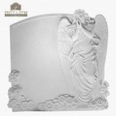 Скульптура ангела из мрамора №101  — ritualum.ru
